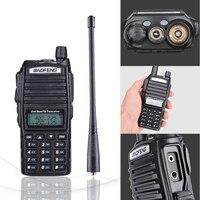 vhf uhf 2pcs Baofeng UV-82 8W מכשיר הקשר Dual Band Dual PTT VHF UHF שתי דרך רדיו Baofeng UV 82 רדיו סורק חובב רדיו תחנה (3)