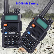 2 шт. vhf uhf Профессиональное двухстороннее радио ht baofeng UV-5R Любительская дальняя рация 10 км охотничий радиоприемник CB передатчик