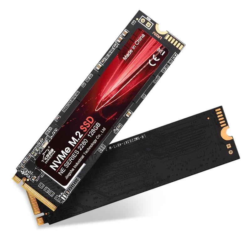 JINGSHA M2 SSD NVMe 256GB 512GB 1TB 128GB M.2 2280 PCIe SSD Internal Solid State Drive for Laptop Desktop SSD DriveR 3