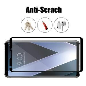 Image 4 - 3D 9H Full Cover Black Screen Protector For LG V30 V40 Plus V50 Tempered Glass Protective Glass Film Edge To Edge Full Coverage