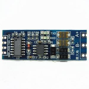 S485 к ttl модулю ttl к RS485 преобразователь сигнала 3 в 5,5 В изолированный одиночный чип последовательный порт UART Модуль промышленного образца