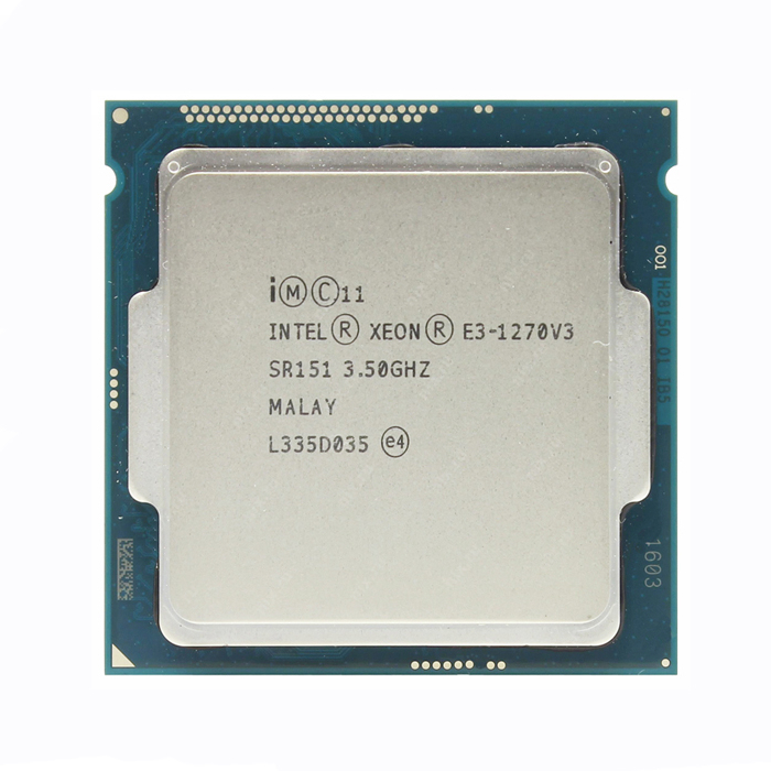 Intel Xeon E3 1270 V3 3,5 ГГц LGA1150 8 Мб четырехъядерный процессор SR151