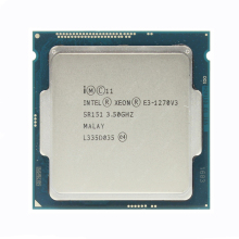 Intel Xeon E3 1270 V3 3,5 GHz LGA1150 8MB Quad Core CPU Prozessor SR151