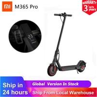 【25€ promo code: 08ESOW25】Xiaomi-patinete eléctrico Mi M365/ M365 Pro, versión Global, plegable, 25 km/h, 45km de distancia, sistema ABS, batería de larga duración
