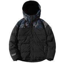 Parka Männer Winter Jacken Baumwolle Chaquetas Hombre Camo Mantel Mens Casual Verdicken Warm Camouflage Mode Streetwear Kleidung