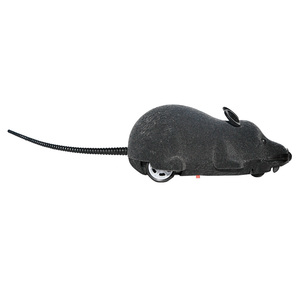 Мышь игрушки беспроводные RC мышки для котов игрушки пульт дистанционного управления ложная мышь Новинка RC кошка игра беспроводная мышь игрушки для кошек