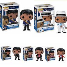ファンコpopビートそれ危険なマイケル · ジャクソンアニメ図pvcアクションフィギュアコレクションモデルの子供のおもちゃの誕生日プレゼント