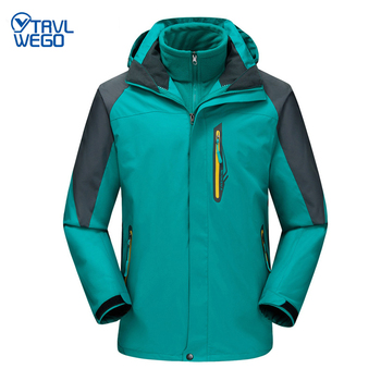 TRVLWEGO Winter Ski Jackets Men Outdoor Thermal Waterproof Snowboard Hiking Camping Jackets Climbing Snow Skiing Clothes wild snow lady winter outdoor skiing jackets waterproof warmer snowboarding jackets ski suit clothes female hiking coats