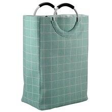 Органайзер для белья, сумка для грязного белья, складная корзина для домашнего белья, сумка для хранения зеленого цвета