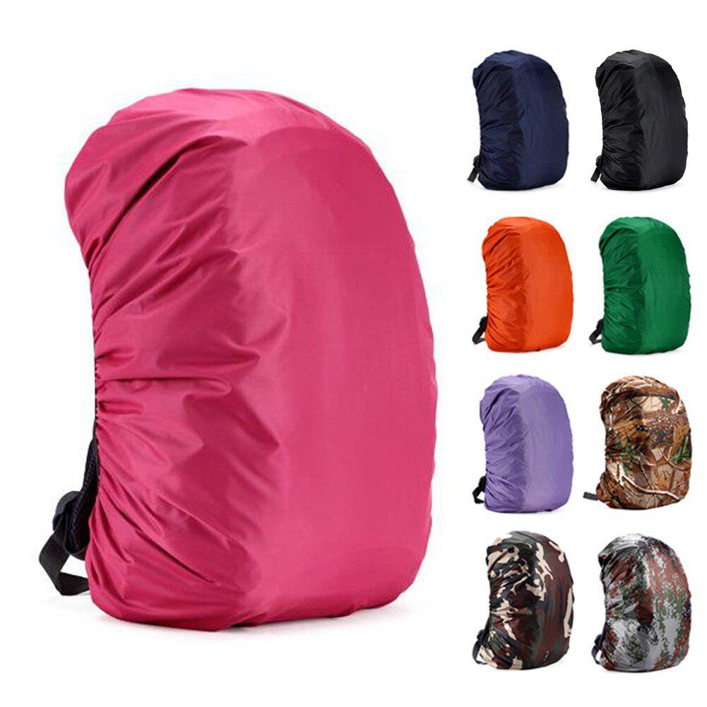 35L/45L Adjustable Bag Covers Waterproof Dustproof Backpack Portable Rain Cover Ultralight Double Shoulder Bag Case Protector