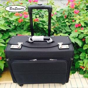 Image 2 - BeaSumore сумка для ноутбука, мужская и женская, 18 дюймов