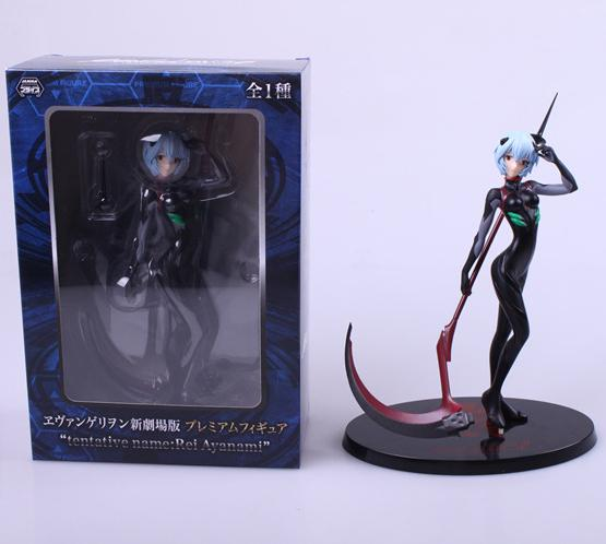 20cm Neon-genesis-evangelion Ayanami Rei Anime Girl Static Action Figure Sexy Beauty High Quality Pvc Figurines Colection Toys 1