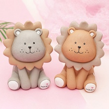 Banks-Money-Box Savings-Bank Piggy-Toy Kids Cute Cow Lion for Dolls Gift Home-Ornaments