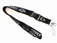 1 шт. 3D вышивка кружевной автомобильный Стайлинг модный брелок для ключей для BMW MINI Cooper Clubman R55 R56 R57 R58 R59 F54
