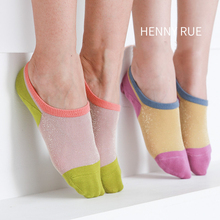 Women Socks Slippers Invisible Cotton Fashion Casual New Spring Patchwork Korean-Style
