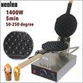 XEOLEO коммерческая машина для буфетов яиц QQ  вафельница из нержавеющей стали  вафельница для яиц 1400 Вт 220 В  печь для тортов с пузырьками из Гон...