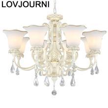 Gantung Moderna Hanglampen De Techo Vintage Lampen Industrieel Deco Maison Crystal Light Luminaria Lampara Colgante Hanglamp