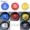 For Jeep Wrangler Grand Cherokee Auto Engine Push Start Stop Button Ring Cover Cap Stickers Interior accessories Car Styling