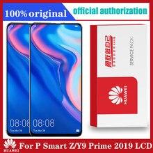 Originele 6.59 Inch Voor Huawei Y9 Prime 2019/P Smart Z Lcd-scherm STK-LX1 Touch Screen Digitizer Vergadering Onderdelen