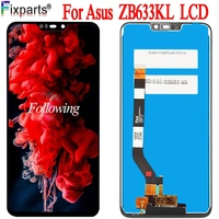 New For Asus Zenfone Max (M2) ZB633KL LCD Display Touch screen Digitizer Panel Assembly Replacement 6.26 For ASUS ZB633KL LCD