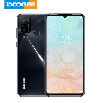 Купить Новый DOOGEE N20 Pro Quad Камера Helio P60 Восьмиядерный мобильный телефон 6 ГБ Оперативная память 128 Гб Встроенная память глобальная версия 6,3 дюймFHD + безра...