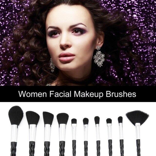 Unicorn Thread Makeup Brushes Professional Make Up Brushes Fiber Brush Set Makeup Tools Eyebrow Eyeliner Powder Brushes dfdf 2