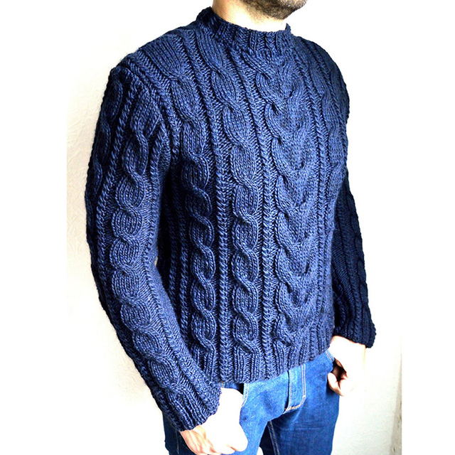 Men's Pullover Sweater Casual Soft and Comfortable