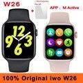 Смарт-часы iwo W26, 40 мм, 44 мм, водостойкие, IP68