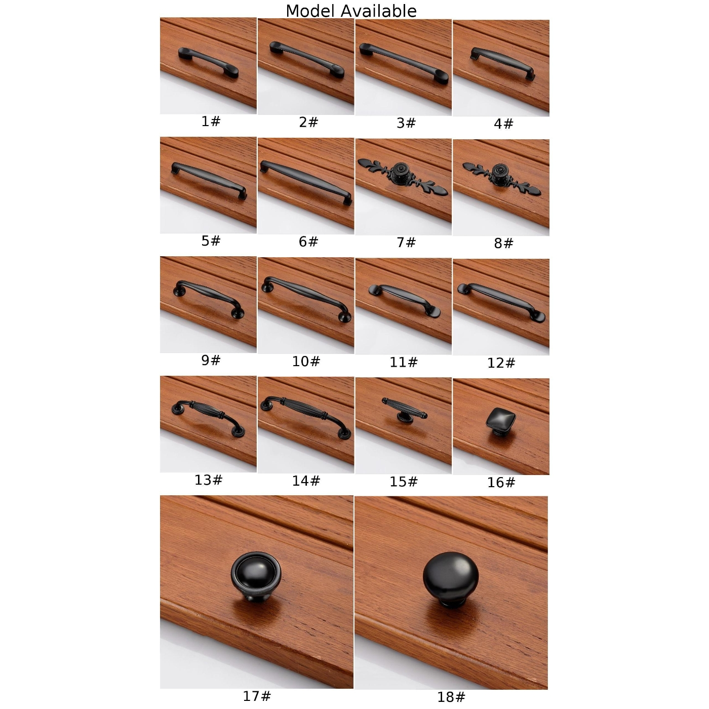 Us 1 36 40 Off Bookcase Knob Decoration Handle Accessories Cabinet Closet Door Drawer Pull Black Diy Tool On Aliexpress