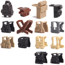 3 Pcs/set Small Particles Building Blocks Soldier Weapon Vest Equipment DIY Scene Assembled Blocks Bricks Toys for Children Gift(China)