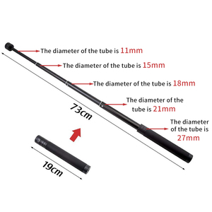 Image 4 - XILETU GP 73A  Handheld Adjustable Extension Rod, Retractable Stick, Telescopic Collapsible for Gimbal Stabilizer