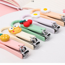 Cute Cartoon Nail Clippers Small Nails Trimmer for Children Newborn Baby Home Portable Manicure and Toe Repair Tools Infantil