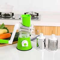 Manuel 1 en multifonctionnel 3 brosses à légumes trancheuse à fruits coupe-oignon couteaux de cuisine outils Gadgets de cuisine accessoires