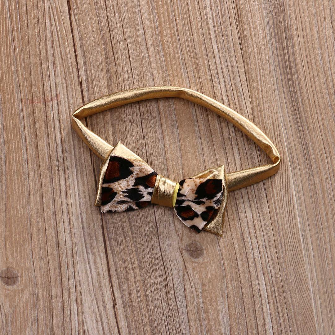 3Pcs Leopard Busur Bayi Pakaian Set Musim Panas Anak-anak Bayi Gadis Bikini Set Pakaian Renang Baju Renang Baju Renang