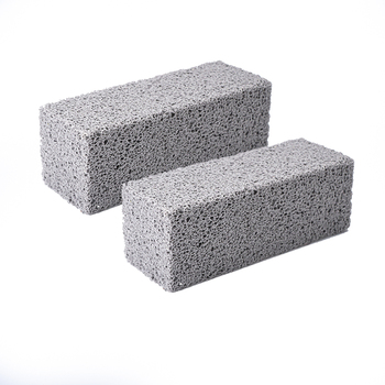 2Pcs BBQ Grill Cleaning Brick Block Barbecue Cleaning Stone BBQ Racks Stains Grease Cleaner BBQ Tools Kitchen Decorates Gadgets 8