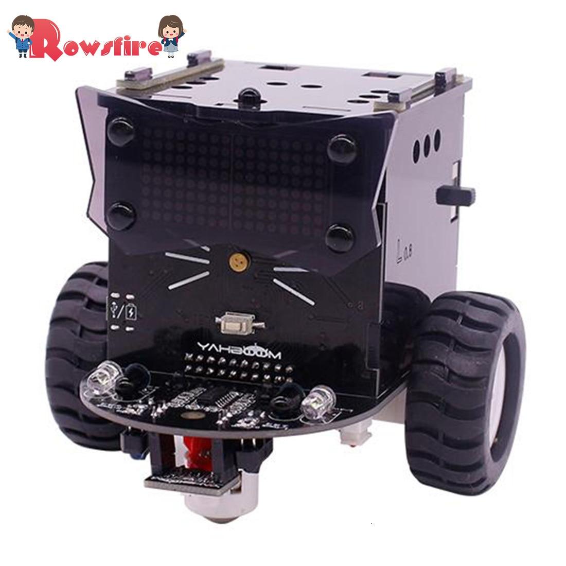 High Recommend 1 Set Standard Version Omibox Scratch Programmable Robot Car Kit