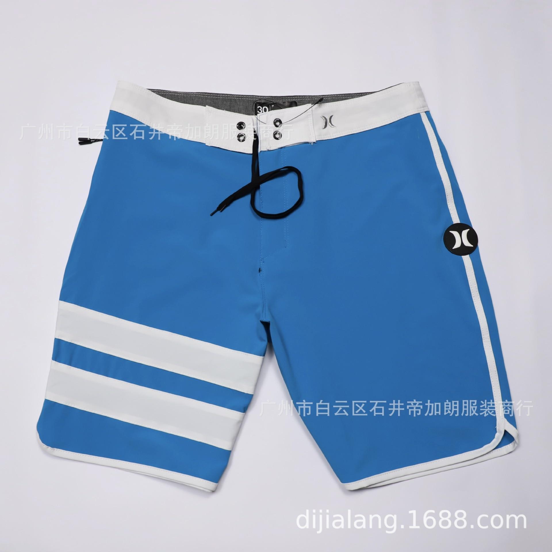 2019 New Style Quick-Dry MEN'S Beach Pants Men's Elasticity Shorts Short Waterproof Large Size Boardshort