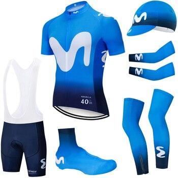 Conjunto completo de ciclismo de equipo M para hombre, set de deporte...