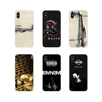 Para Huawei G7 G8 P7 P8 P9 P10 P20 P30 Lite Mini Pro P Smart Plus 2017 de 2018 de 2019 Kamikaze fundas para teléfono accesorios Eminem