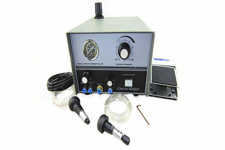 Pneumatic Engraving Machine GraverMate Jewelry Engraver Working Handle Metal Jewelry Making Equipment 220/110V Graver Max