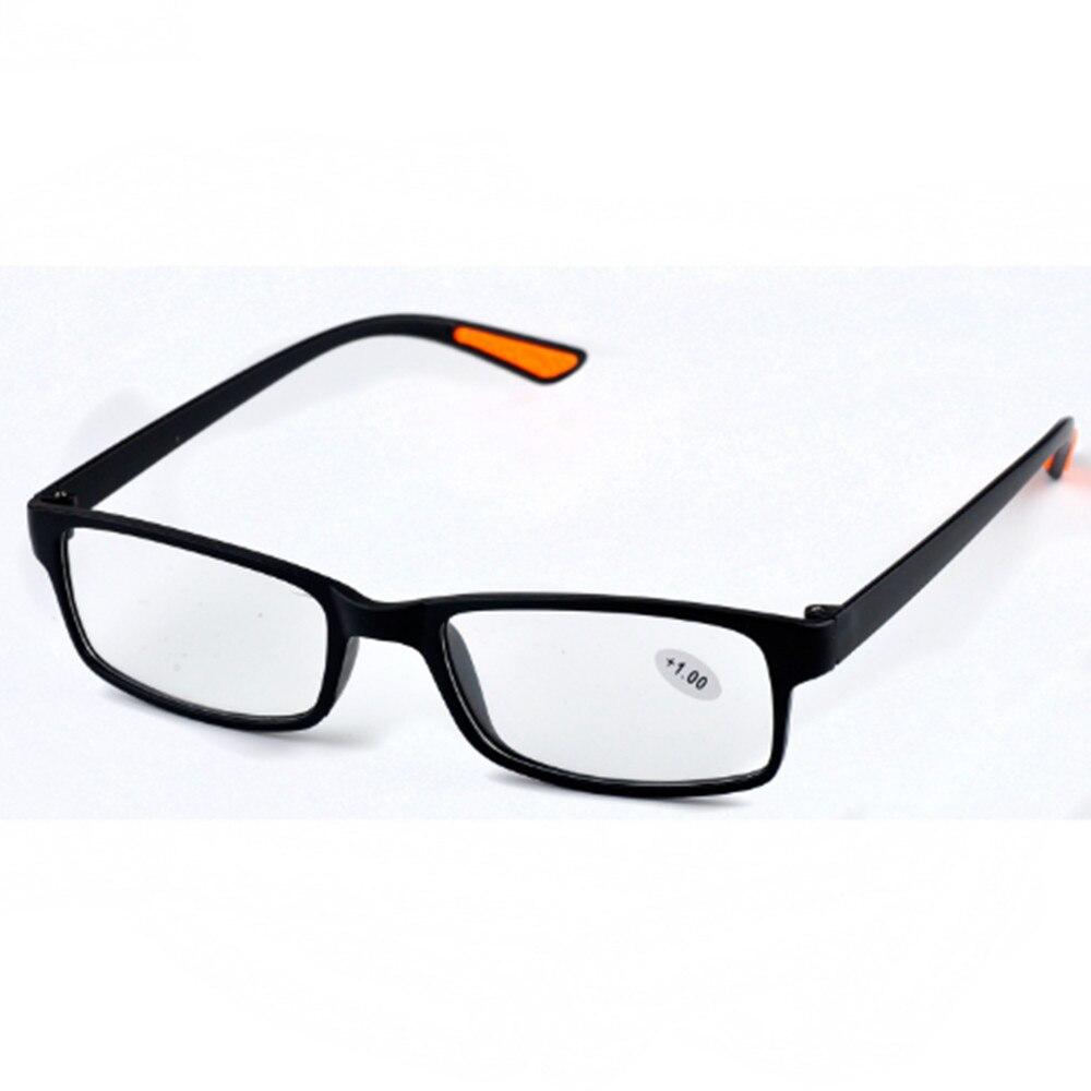 Fashion New Unisex Transparent TR90 Reading Glasses +0.75 to +4.0  YJ027