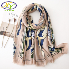 Cotton Women Long Scarves Soft Spring Ladys Viscose Beach Shawls Thin Summer Fashion Female Wraps Muslim Head Hijabs