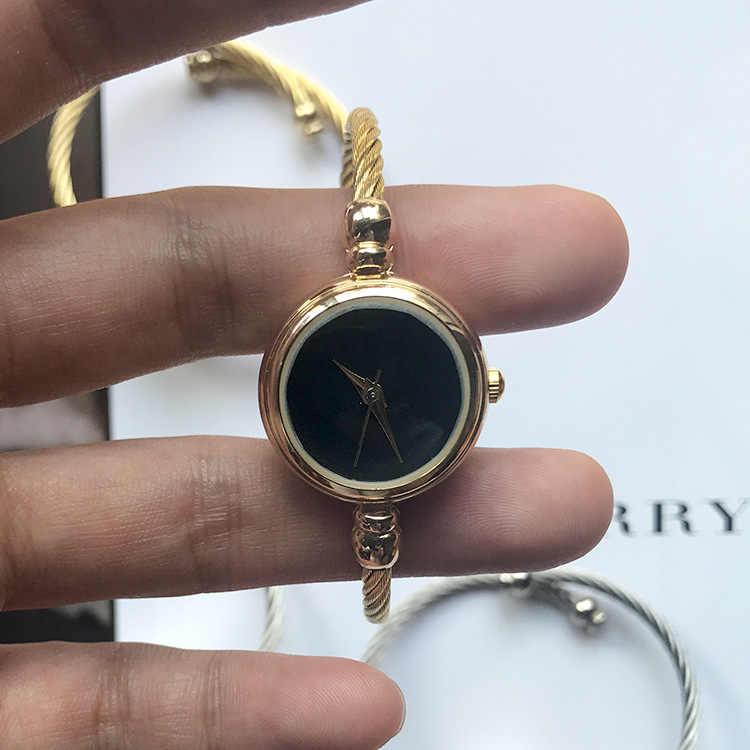 1 Chiếc Vintage Retro Đồng Hồ Thạch Anh Nữ Nữ Lắc Tay Đồng Hồ Vòng Tay Dây Thép Không Gỉ Thời Trang Sang Trọng Đồng Hồ Nữ Vàng Bạc