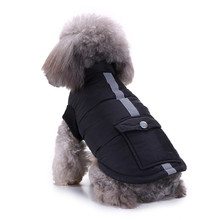 Jacket Dog-Coat Winter Warm for Wadded Clothing Pet-Supplies Dog-Accessories Small Cotton