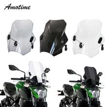 Für YAMAHA FZ1 FZ6 FZ8 XJ6 Universal Motorrad Windschutz Windschutz Deckt Bildschirm Rauch Objektiv Motorräder Deflektor