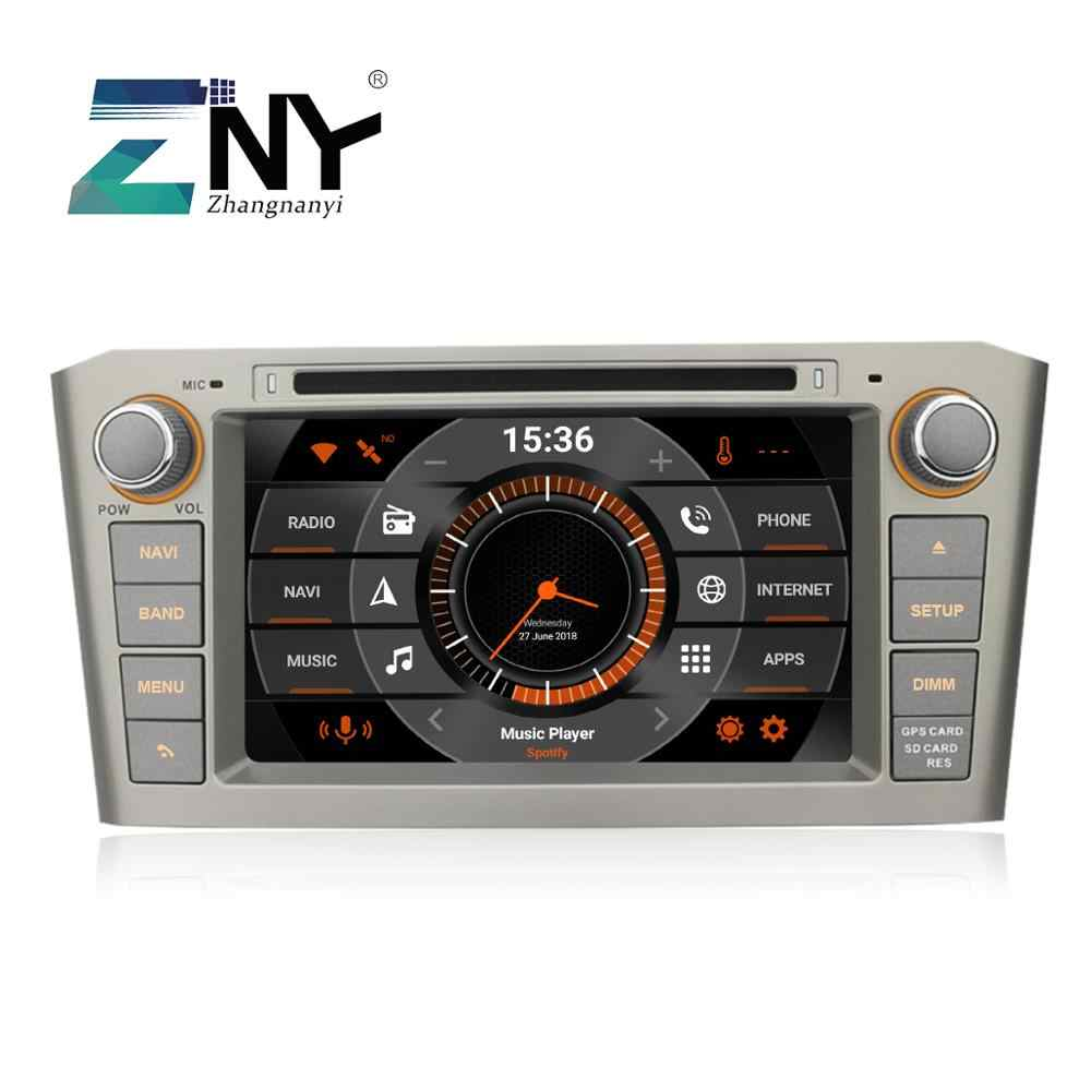 "7 ""Android 9.0 Auto DVD Voor Toyota Avensis T25 2003 2004 2005 2006 2007 2008 Radio RDS GPS Navigatie audio Video Backup Camera"