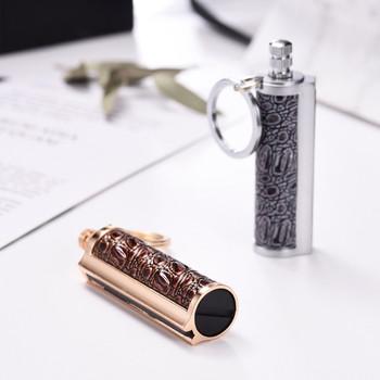 Akcesoria do papierosów przenośne lżejsze etui ze stopu mody przenośne akcesoria do palenia na zewnątrz grill gadżety dla mężczyzn na zewnątrz tanie i dobre opinie CN (pochodzenie) Płomień NONE Metal ISHOWTIENDA(ISHOWTIENDA)