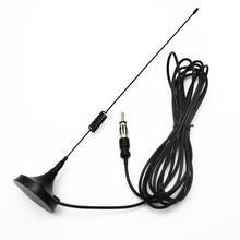 Автомобильный Am/Fm радио антенна стерео сигнал багажник Крепление-в антенны с 2,8 Удлинительный кабель для CD радио автомобиля