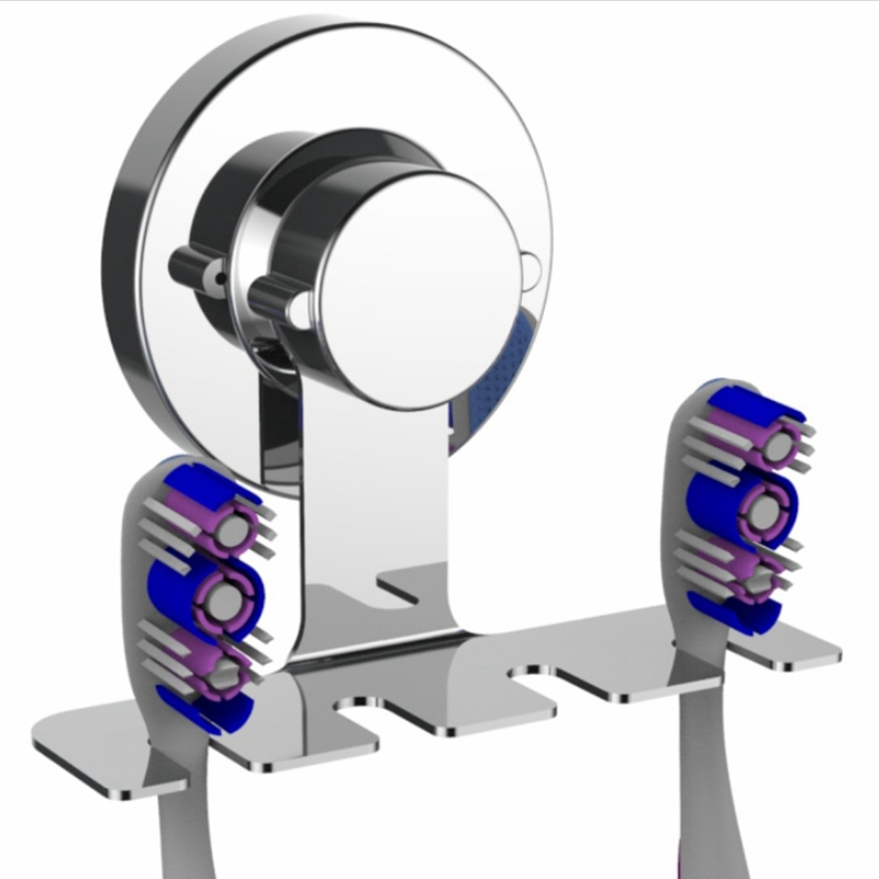 Toothbrush Holder Suction Cup  Mirror  Tile  Wall Toothbrush Holder Wall Mounted  Toothbrush Holder For Bathroom  Does Not Fall|Toothbrush & Toothpaste Holders| |  - title=