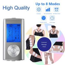 Massager Rechargeable Electric Pain Relief Machine 8 Modes Tens Unit Portable Pulse Massager Muscle Stimulator Therapy